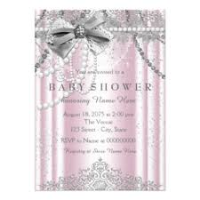 pink and grey baby shower pink gray baby shower invitations announcements zazzle