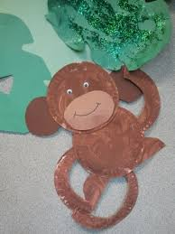 Monkey Paper Plate Craft - and classrooms