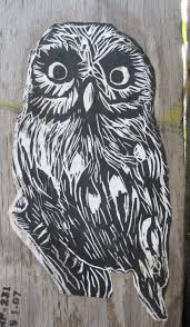 owls real and artistic backyard and beyond
