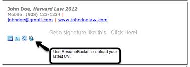 college student email signature example