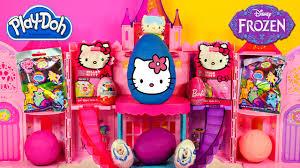 eggs frozen barbie kitty play doh pony disney