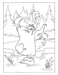 theme forest animals coloring pages juf milou