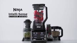 Ninja Mega Kitchen System Meet The Ninja Intelli Sense Kitchen System With Auto Spiralizer