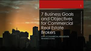 7 critical business goals and targets for commercial real estate