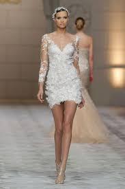 robe de mariã courte en images 15 robes de mariée courtes 2015 l express styles