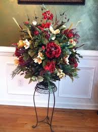 Silk Flower Arrangements For Dining Room Table 4203 Best Floral Arrangements Images On Pinterest Floral