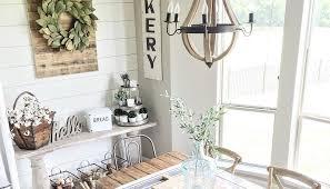 farmhouse and vintage decor