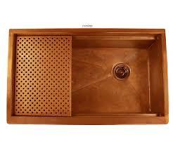 copper apron front sink legacy copper farmhouse sink apron artwork havens metal
