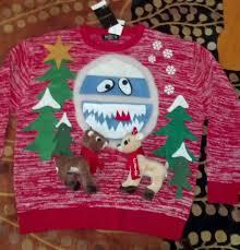 nose sweater sweater rudolph nose reindeer clarice