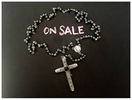 cruel intentions rosary on sale cruel intentions rosary sterling silver onyx swirl