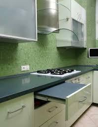 Denim Home Decor Random Bricks Grey Glass Tile Glossy Ice Denim Idolza