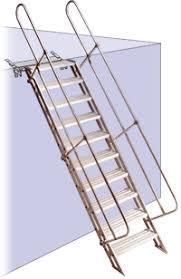 removable aluminum stairway aluminum access stairway aluminum