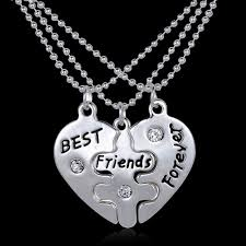 Personalized Hand Stamped Jewelry Aliexpress Com Buy 2pcs Lot Puzzle Necklace Handstamped Jewelry
