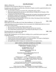 resume sle for doctors doctorresume sales doctor lewesmr