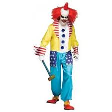 scary clown costumes evil clown costume scary freak show killer fancy