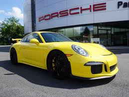 porsche 911 certified pre owned certified pre owned 2015 porsche 911 gt3 2dr car in parsippany