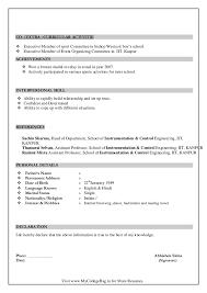 simple resume sle for fresh graduate pdf converter resume of fresher re enhance dental co