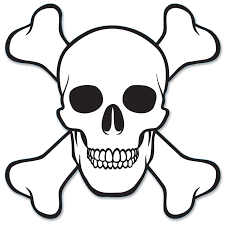 simple skull clipart collection