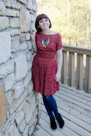 brick red vintage dresses black jcrew boots navy target tights