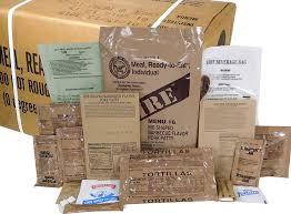mres meals ready to eat box b genuine u s military surplus