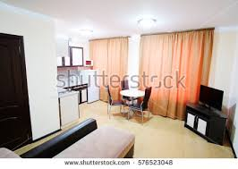 modern interior design private apartment 3d stock illustration