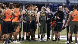 Michael Duncan Clark Bench Press Nfl Combine Schedule Tv Info And Preview For Day 5 Big Cat Country