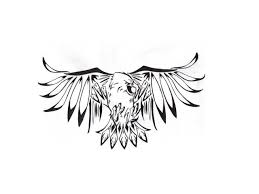 flying eagle tattoo design real photo pictures images and