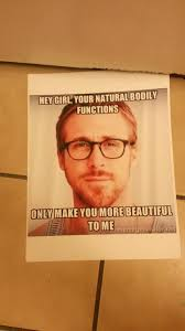 Good Boyfriend Meme - boyfriend uses ryan gosling meme to fight absurd pooping double