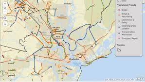 Pollen Map Scdot Launches Interactive Map Of Road Projects Wcbd News 2