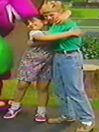 Luci Barney And Friends Wiki by Image Tina And Michael Hugging Jpg Barney Wiki Fandom