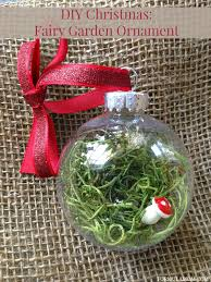 12 days of diy ornaments garden ornament