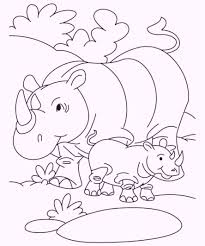 animals and their babies coloring pages coloring pages