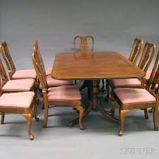 Henredon Dining Room Furniture Search All Lots Skinner Auctioneers
