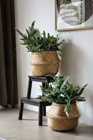 great baskets for greenery design finish with greenery pinterest
