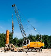 crawler crane lattice for construction hydraulic 630 hd