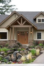 Ranch Style House Plans With Porch Craftsman Home Photos Halstad Craftsman Ranch House Plan 5902