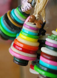 best 25 button ornaments diy ideas on