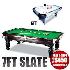 brunswick 7ft pool table 7ft slate pool table thelt co