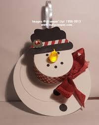tea light snowman sting with buffy