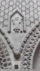 bayeux cathedral romanesque ornament 2 the dairy free