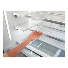 sliding glass door fridge wrf993fifm whirlpool 36