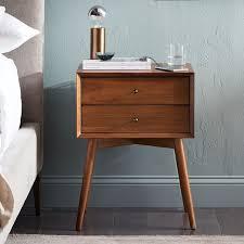 Acorn Bathroom Furniture Mid Century Nightstand Acorn West Elm