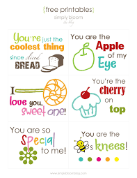 14 sets of free lunch box notes