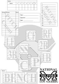 documents milford national lou gehrig little league
