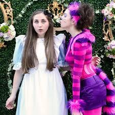 an alice in wonderland sweet 16 party popsugar moms