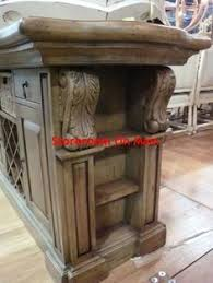 kitchen island ebay kitchen island cottage distressed country carved