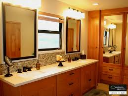 cherry craftsman bathroom