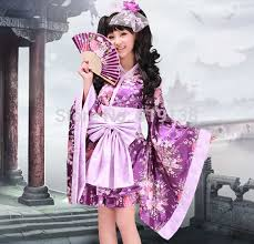 Halloween Japanese Costumes Halloween Maid Cosplay Dress Flower Costume Short Japanese