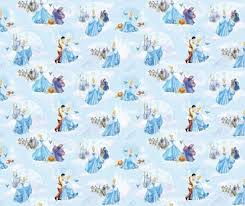cinderella wrapping paper disney fabric disney princess cinderella fabric at the