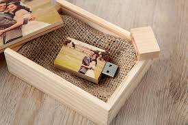 wedding photo box wooden usb box loxley colour